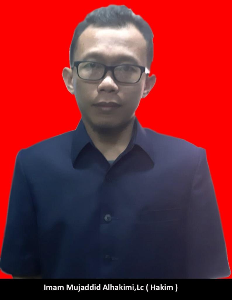 Imam Mujaddid Alhakimi, Lc.